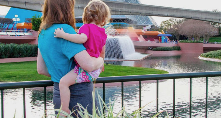 Experiencing EPCOT with a Toddler